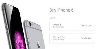 How Much The IPhone 6s & IPhone 6s Plus Will Cost In Malaysian