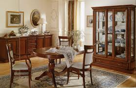 Breathtaking Dining Room Furniture Buffet With Italian Style Chairs