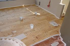 Flooring Concrete Wood Working