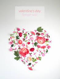 Valentines Day Flower Wall Art