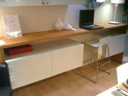 meuble haut bureau bureau haut avec meubles de cuisine ikea déco maison
