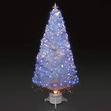 White Fibre Optic Christmas Tree Artificial Decorating Trees For A Sparkling And Shimmering Holiday