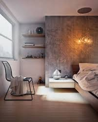 Concrete Wall Designs: 30 Striking Bedrooms That Use Concrete ... Interior Design Fancy Bali Blinds For Window Decor Ideas Best 25 Tv Feature Wall Ideas On Pinterest Living Room Tv Unit Home Decorating Textured Wall Room Kyprisnews Stone Youtube Latest Modern Lcd Cabinet Ipc210 Designs Remarkable With White Cushions On Cozy Gray Staggering The Best Half Painted Walls Black And 30 Stylish Decorations Murals Expert Gallery