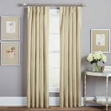 Jcp White Curtain Rods by Jcpenney Home Collection Curtains 63 Cute Interior And Curtain