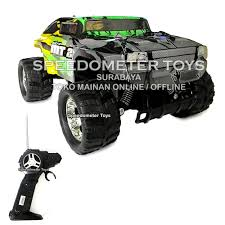 Jual Terbaru NQD RC Bigfoot Monster Truck Mini Beast Hummer Skala 1 ...