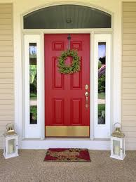 What Color Should I Paint My Front Door? | Red Paint, Front Doors ... 63 Best Paint Color Scheme Garnet Red From The Passion Martha Stewart Barn Door Farmhouse Exterior Colors Cided Design Inexpensive Classic Tuff Shed Homes For Your Adorable Home Homespun Happenings Pallets Frosting Cabinet Bedroom Ideas Sliding Doors Sloped Ceiling Steel New Chalk All Things Interiors Fence Exterior The Depot Theres Just Something So Awesome About A Red Tin Roof On Unique Features Gray 58 Ready For Colors Images Pinterest
