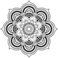 Mandala Designs Adult Coloring Book