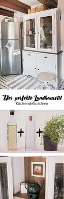 wanddeko kuche landhaus caseconrad