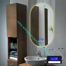 k3015ca licht spiegel touch schalter mit bluetooth fm radio temperatur datum kalender display für bad oder schrank spiegel