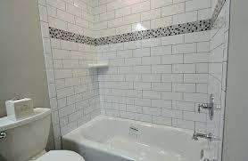 subway tile tub surround ideas luannoe me