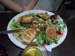le chalet savoyard rue de charonne salade de chèvre chaud picture of le chalet savoyard
