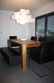 esszimmer design stühle mit sitzbank schwarz