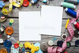 Sewing Supplies stock illustration Image of cloth needle