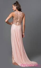 elizabeth k designer sequin long prom dress promgirl