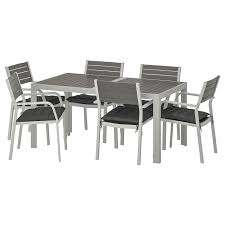 Table+6 Chairs W Armrests, Outdoor SJÄLLAND Dark Grey, Hållö Black Details About Set Of 5 Pcs Ding Table 4 Chairs Fniture Metal Glass Kitchen Room Breakfast 315 X 63 Rectangular Silver Indoor Outdoor 6 Stack By Flash Tarvola Black A 16 Liam 1 Tephra Alba Square Clear With Ashley 3025 60 Metalwood Hub Emsimply Bara 16m Walnut Signature Design By Besteneer With Magnificent And Ding Table Glass Overstock Alex Grey Counter Height