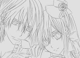 Anime Coloring Pages Vampire Knight