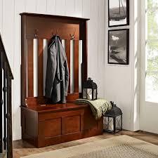 Alaterra Shaker Cottage Storage Bench And Coat Rack Set