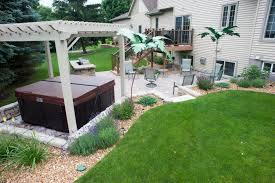 Hardscaping Ideas For Small Backyards Pictures Decoration Terrific ... Patio Ideas Spa Designs Hot Tub Gazebo Backyard Idea Remarkable Small With Tubs Images For Installation And Landscaping Youtube On A Budget Corner Ordinary Back Yard Design Amys Office Custom Stainless Steel With Automatic Retractable Safety Cover Outdoor Round Shape White Interior Color Decks The Outstanding Home Deck Homesfeed Amusing Pics Bathroom Gray Finish Wood Flooring Landscaping Hot Tub Pictures Solutionscustomlandscaping