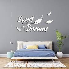 wandtattoo aa812 wandaufkleber sweet dreams spruch