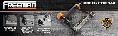 Flooring Nailer Vs Stapler by Amazon Com Freeman Pfbc940 4 In 1 18 Gauge Mini Flooring Nailer