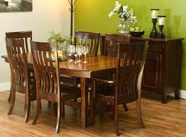 Amish Dining Table With Self Storing Leaves That Pull Out Custom Made Room Tables Farmhouse
