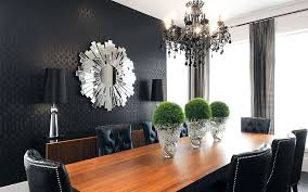 Black Wallpaper Is For Those Who Have A Flair The Dramatic Design