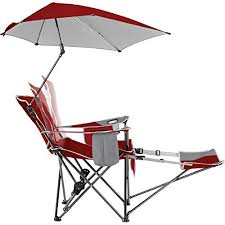 Kelsyus Original Canopy Chair Bjs by Amazon Com Sport Brella Recliner Chair Sports U0026 Outdoors
