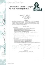 Sample Work Experience Resume Template No College Student Samples Limited