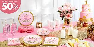 Pink And Gold Birthday Decorations Canada by 1st Birthday Themes For Boys U0026 Girls Party City