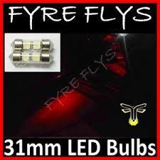 2x 31mm festoon 2 5050 led bulbs de3021 de3022 de3175 e1 ebay
