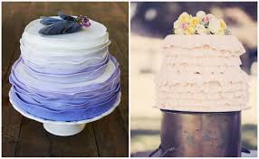 25 Ombre Ruffle Wedding Cake Wonders