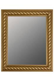 elbmöbel wandspiegel wandspiegel spiegel badezimmerspiegel wandspiegel kordelrahmen 52x62x7 cm holz gold vintage kaufen otto