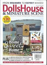 100 House And Home Magazines Amazoncom DOLLS HOUSE AND MINIATURE SCENE HOME SWEET HOME