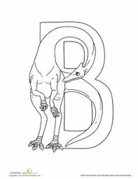 Lets Hear A Roar For The ABCs This Series Of Dino Shaped Alphabet Letters