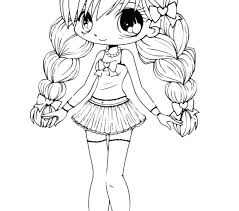 Collection Of Girl Coloring Pages Cute