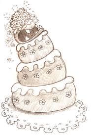 Sketch Wedding Cake Monster by MeghanMurphy