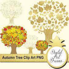 Tree Clipart png Fall Graphics Autumn Illustration Tree Digital Image Gold Tree Branch Clip Art Trees with Branches Leaf Scrapbooking from
