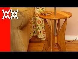 building a cherry wood floor lamp retro style youtube