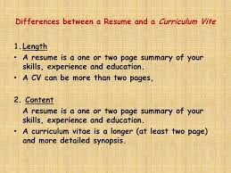 What Is A Curriculum Vitae ? - Ppt Download Difference Between Cv And Resume Australia Resume Example Australia Cv Vs Definitions When To Use Which Samples Between Cv Amp From Rumemplatescom Updat The And Exactly Zipjob Difference Suzenrabionetassociatscom Lovely A The New Resource Biodata Example What Is Beautiful How Write A In 2019 Beginners Guide Differences Em 4 Consultancy Lexutk Examples