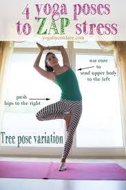 4 Yoga Poses To Zap Stressnbsp Wearing Teeki Balanced