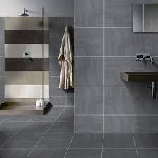 Bevelled Brick Black Bathroom Metro Tile 200 X 100 7 5mm