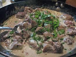 cuisiner les rognons de veau rognons poêlés sauce au cognac du miel et du sel