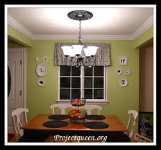 Split Design Ceiling Medallion by Tracie U0027s Updated Kitchen