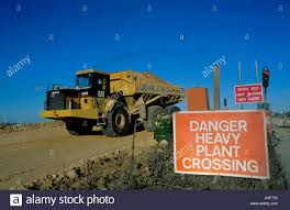 Danger Heavy Plant Crossing