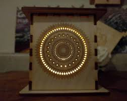Laser Cut Lamp Dxf by Laser Cut Lamp Etsy