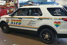 100 Gay Truck NYPD Shows Support For Gay Pride With Newlook Patrol SUV