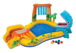 Kids Inflatable Pool Small Kiddie Blow Up Above Ground Swimming Is Great For