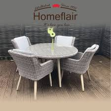 Homeflair Rattan Garden Furniture Danielle Brown Round Dining Table + 4  Chairs Set Wicker Ding Room Chairs Sale House Room Marq 5 Piece Set In Brick Brown With By Mfix Fniture Durham Outdoor 7 Acacia Wood Christopher Knight Home Invite Friends And Family To Your Outdoor Ding Space Round Kitchen Table With It Would Be Nice If Solid Bermuda Pc Side Model 1421set1 South Sea Rattan A Synthetic Rattan Outdoor Ding Table And Six Chairs 4 High Back 18 Months Old Lincoln Lincolnshire Gumtree Amazoncom Direct Pieces Allweather Sahara 10 Seat Teak Top Kai Setting