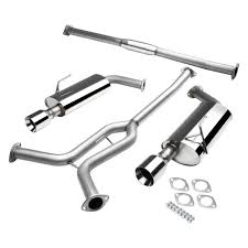 For Nissan Maxima 04-08 Exhaust System Stainless Steel Cat-Back ... Flowmaster 17362 Catback Exhaust System Force Ii 1999 Borla Stype Catback 12671 Milltek Sport Audi 8p A3 Fwd 20t On 3 Performance Mustang Foxbody 50 Lx 1987 For The 42018 Gm Magnaflow 19281 Focus Stainless Steel Apr Cat Back S3 Saloon Clp Tuning 140680bc Tacoma 212 Truck Armytrix Valvetronic Blue Remus Mercedes Cla45 Amg Facelift Model 2015 Mbrp Xp Series S5338409 Rpm Renault Clio 09 Tce Dynamique S Medianav Ss Custom Longlife