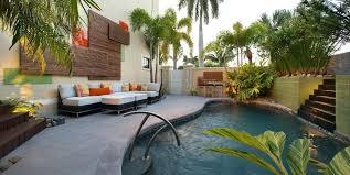 Pool Wall Decor Outdoor Contemporary With Interior Designer Fabric Hammocks Area